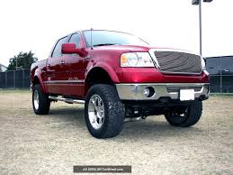 Lifted 2007 Ford F150 Lariat Supercrew 4x4