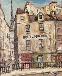 hotel de deux lions by robert le berger on artnet