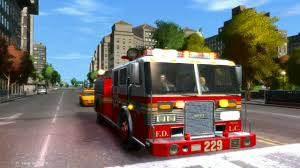 100 Gta 4 Trucks Grand Theft Auto IV FIRE TRUCK FIREV1V ELS Emergency