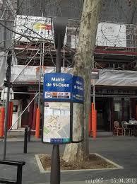 metro denis porte de photos à denis porte de métro et mairie de ouen