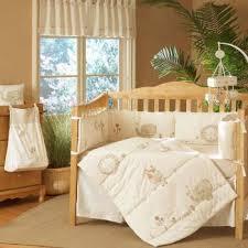 Sleepy Safari Collection 4 piece Crib Bedding Set Crib