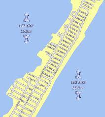 LBI Maps Section 8 Brant Beach Long Beach Island NJ