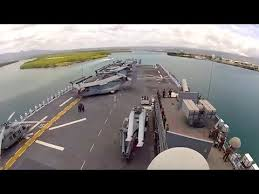Uss America Sinking Location by Uss America Timelapse Arrival At Pearl Harbor For Rimpac 2016