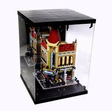 LED Lighted Display Case For LEGO Modular Buildings