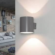 details zu graue up le metall modern g9 flur treppenhaus indirekte beleuchtung