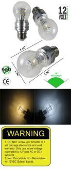 a19 21 watt 12 vdc led bulb ncnrnw low voltage led lights ledlight
