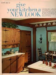 Inspiring Kitchen Decoration Using 1960s Cabinet Ideas Breathtaking Vintage Rustic