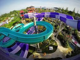Salah Satu Wahana Permainan Air Di Waterpark Terbesar Jogja By Jogjabay