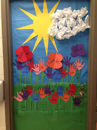 April Classroom Door Ideas