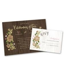 Country Wedding Invitations Rustic Whimsy Invitation With Free Response Postcard