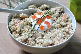 comment cuisiner le quinoa salade de quinoa au saumon et au tofu