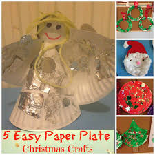 Paper Plate Christmas Crafts Simple Christmas Crafts Simple