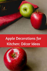 Apple Kitchen Accessories And Decortions