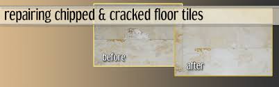 Repairing Chipped And Cracked Floor Tiles