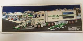 Hess 2003 Toy Truck And Race Cars - O385 | EBay