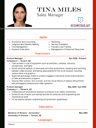 Functional Resume Template Updated Latest Samples For Experienced