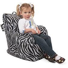 Big Joe Cuddle Bean Bag Chair Zebra