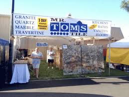 mr tom s tile showcasing products at home expos paso robles