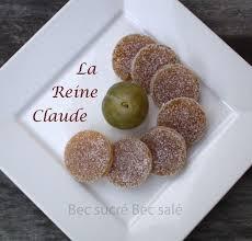 pâtes de fruits prune reine claude bec sucré bec salé