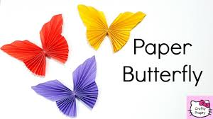 Amazing Of How To Make Origami Butterfly Paper Easy Diy Room Decor