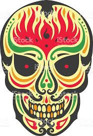 Easy Sugar Skull Day Of by Sugar Skull Day Of The Dead Illustrations Design Stock Vector Art