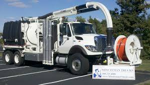 100 Sewer Truck International Combo Minuteman S Inc