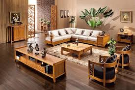 Brilliant Sofa Set For Drawing Room Wooden Designs Pertaining To Living
