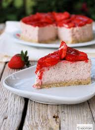 steamed erdbeer cheesecake mit und ohne thermomix 1x
