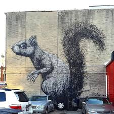 Big Ang Mural Brooklyn by Check Out Roa U0027s Giant Squirrel Mural In Williamsburg Viewing Nyc
