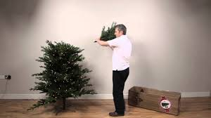 6ft Artificial Christmas Tree Pre Lit by Noma 1 2 Tree Pre Lit Artificial Christmas Tree Youtube