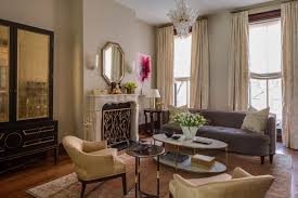Transitional Living Room Furniture by Brooklyn Brownstone Transitional Living Room New York Furniture