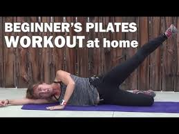 15 minute Beginners Pilates Workout at home
