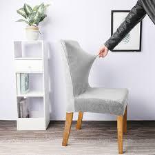 stuhlhussen stuhlbezug stuhlüberzug stretch esszimmer