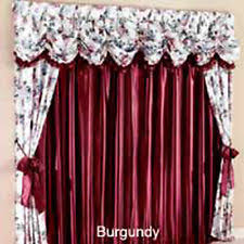 curtains drapes valances in type pleated drapes color red ebay