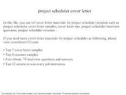 Scheduler Resume Ideas For Computer Objective