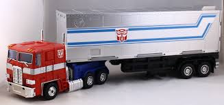 100 Optimus Prime Truck Model Hasbro Transformers Masterpiece MP10 Images And