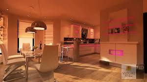 innenraum küche und esszimmer wohnzimmer design