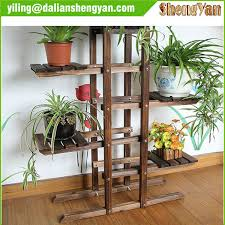 Outdoor Patio Plant Stands by Outdoor Garden Wood Flower Rack Plant Stand Buy Flower Stand