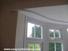 Ceiling Mount Curtain Track Bendable by Ceiling Mounted Curtain Track Bay Window Curtain Blog