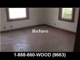 Hardwood Floor Refinishing Pittsburgh by Wood Floor Refinishing Mr Sandless Pittsburgh Ohio Youtube