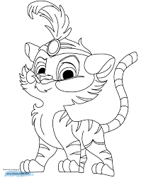 Palace Pets Coloring Pages 3