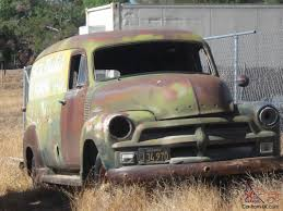 100 1952 Chevy Panel Truck 1954 CHEVROLETCHEVY 1 TON 3800 PANEL TRUCK