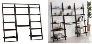 knockout knockoffs crate and barrel sloane leaning desk haworth