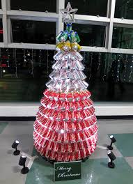 Saran Wrap Christmas Tree by Diy And Recycled Christmas Decorations