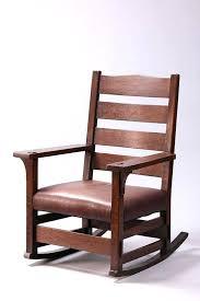 stickley rocking chair value early rocker x x stickley rocking