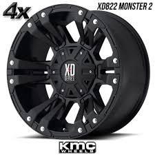 4 KMC XD822 Monster 2 20