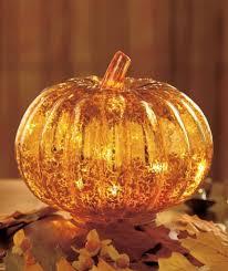 Glass Blown Pumpkins by Thanksgiving Lighted Pumpkin Figurines Thanksgiving Wikii