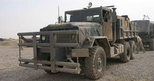 100 7 Ton Military Truck Bizarre American Guntrucks In Iraq