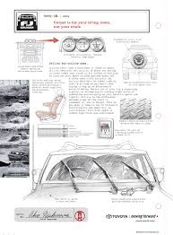 Technical Illustration, Beau And Alan Daniels. - Toyota FJ Cruiser Ads