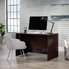 Sauder Shoal Creek Desk Jamocha Wood by Sauder Shoal Creek Sit Stand Desk 422358 U2013 Sauder The
